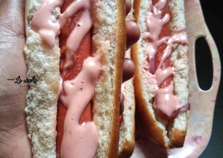 Recipe of Super Quick Homemade Street style HOTDOGS