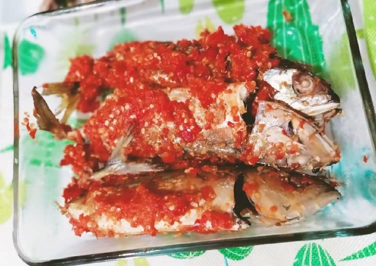 Kembung Balado Panggang edisi healthy clean eating