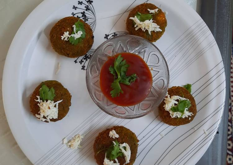 Recipe of Quick Hara bhara kabab
