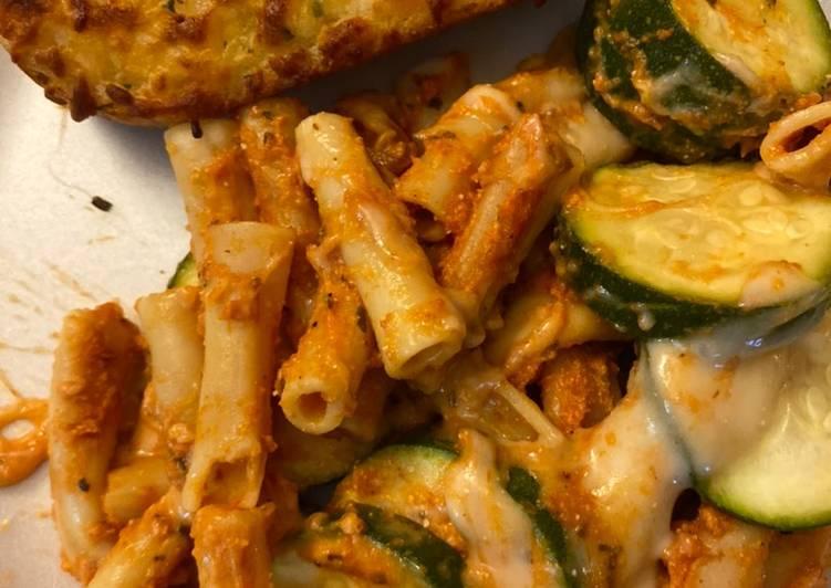 Baked Zucchini Ziti