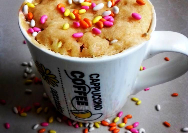 Step-by-Step Guide to Prepare Quick Candy Mug Cake (100th recipe) #mugcakeweek