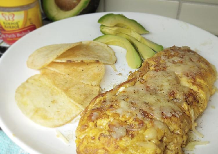Resep Omelet Keju Creamy Bikin Ngiler