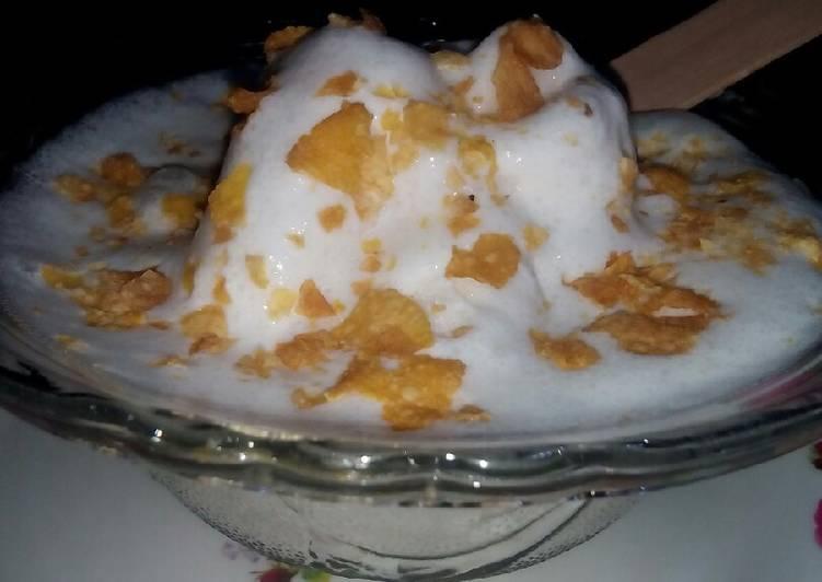 My coconut ice cream recipe