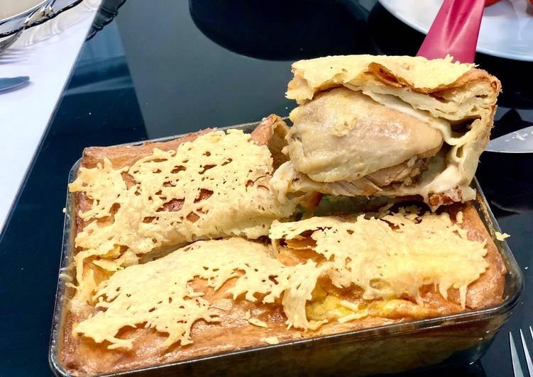 Hanches de poulet au four en galettes durum
