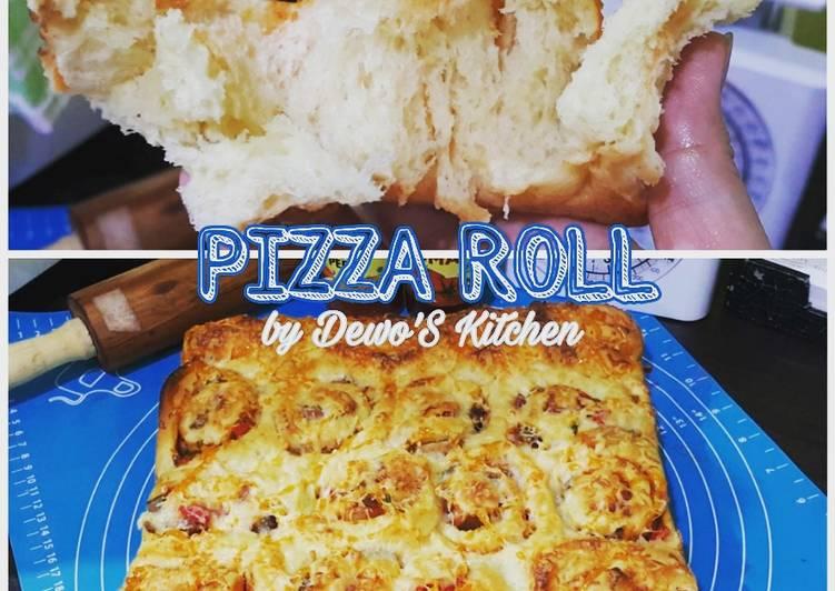Pizza Roll ala Tintin Rayner (Killer Soft Bread)