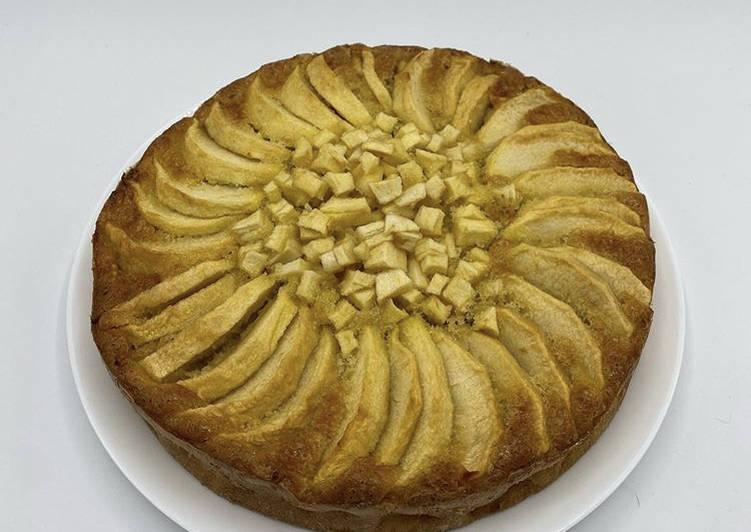 Comment faire Cuire Appétissante Gâteau aux Pommes