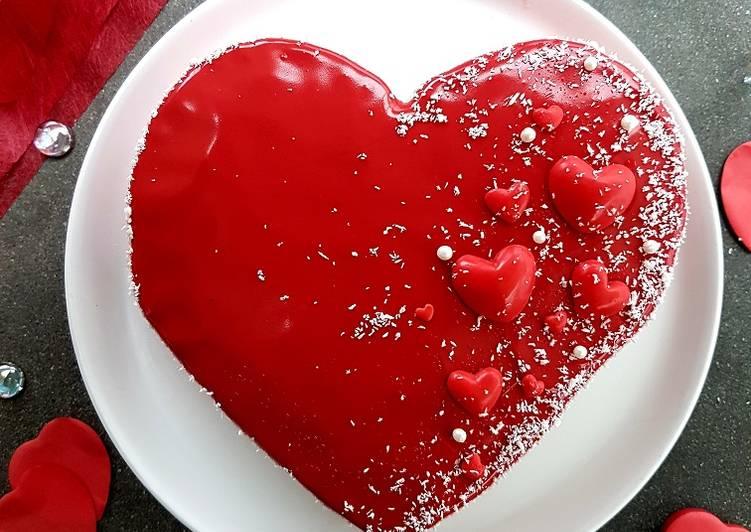 Cheesecake de la St Valentin