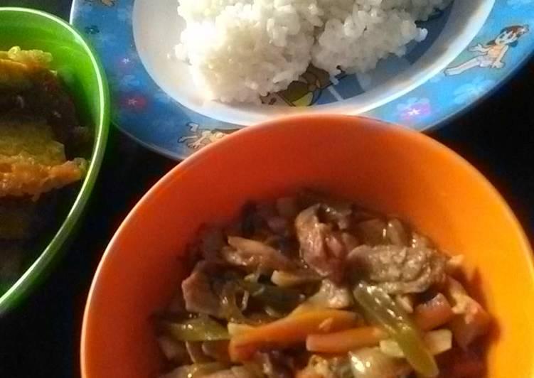 Resep Oseng sayur ayam cincang Yang Simple Endes