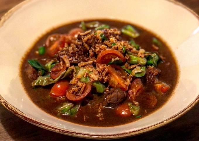 Tongseng Kambing - Javanese Sweet Soy Sauce Lamb Stew