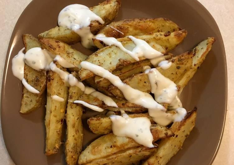 Easiest Way to Prepare Quick Potato wedges