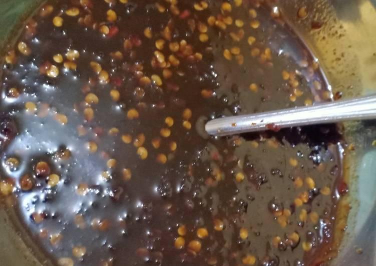 Sambal kemplang panggang/sambal cocol cireng