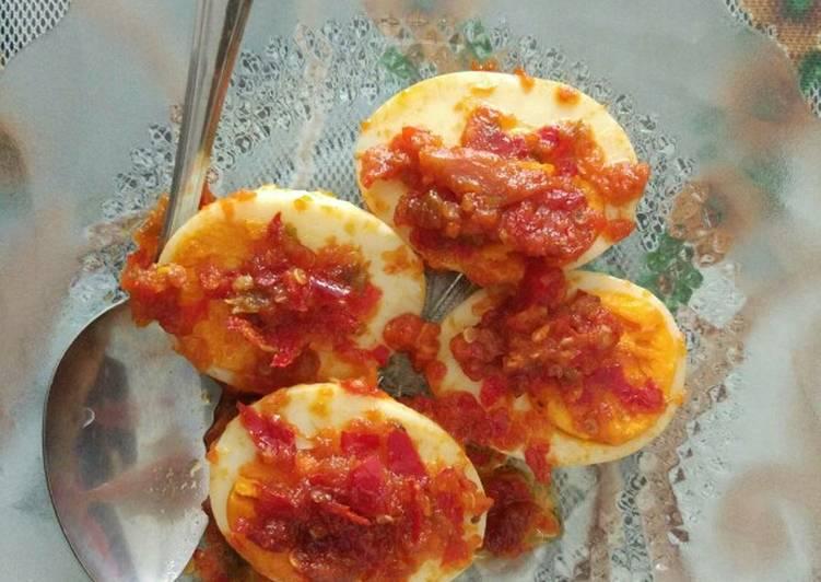 Resep Telur Sambala Bala Sambalado Resepgaul Anti Gagal Kreasi Masakan
