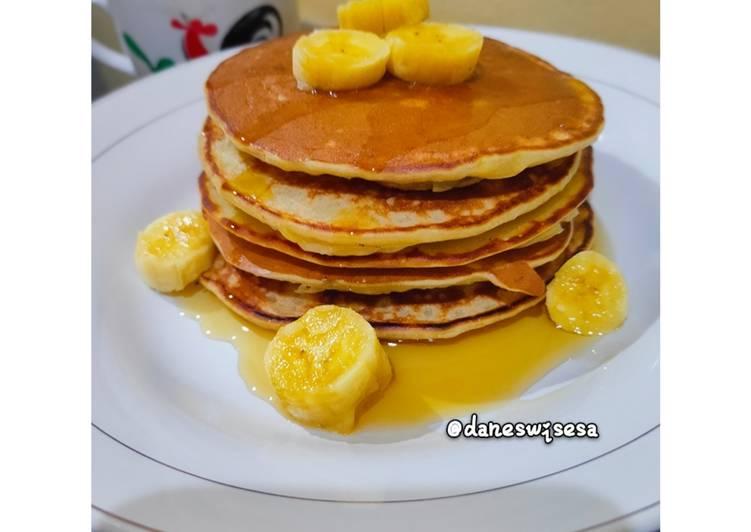 Banana Pancake (Panekuk Pisang)
