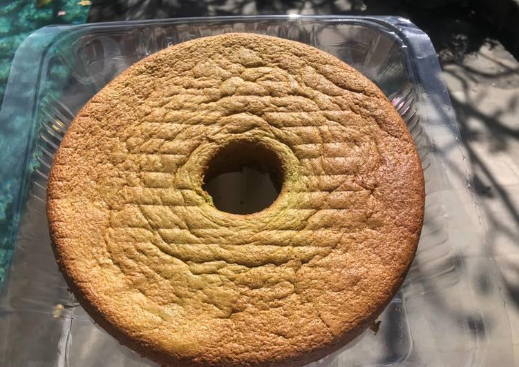Chiffone pandan cake