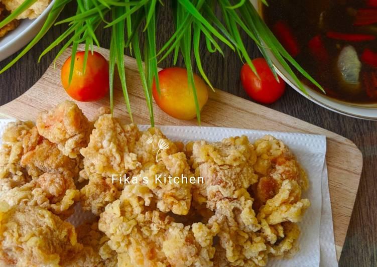 Ayam tepung ala Chinese food