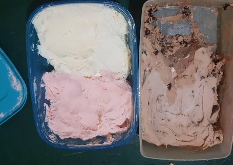 Es krim rumahan sederhana
