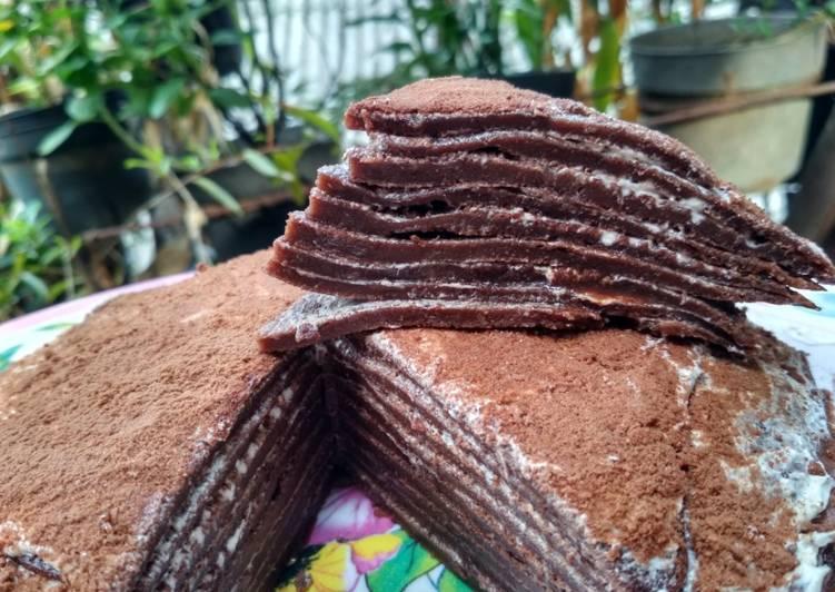 Choco Milo Mille Crepes