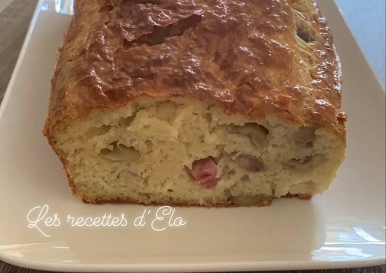 Cake olive/ jambon