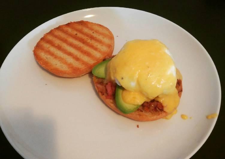 Recipe of Quick Eggs benedict