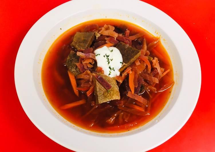 Resep Bit Sup Borscht Enak Dan Sederhana