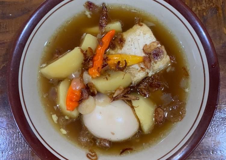 Semur Tahu, Telur & Kentang