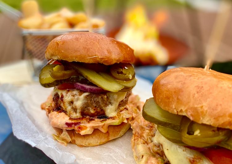My Kickin' Chuck Burger