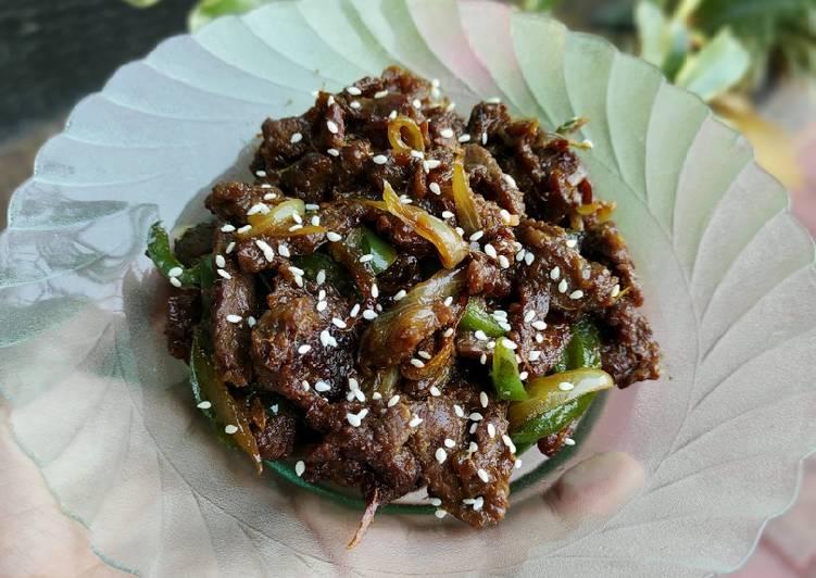 Beef Teriyaki Ala Hokben