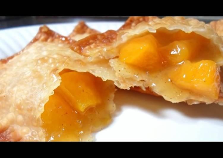 Empanadas Fritas de Durazno a la Sonorense