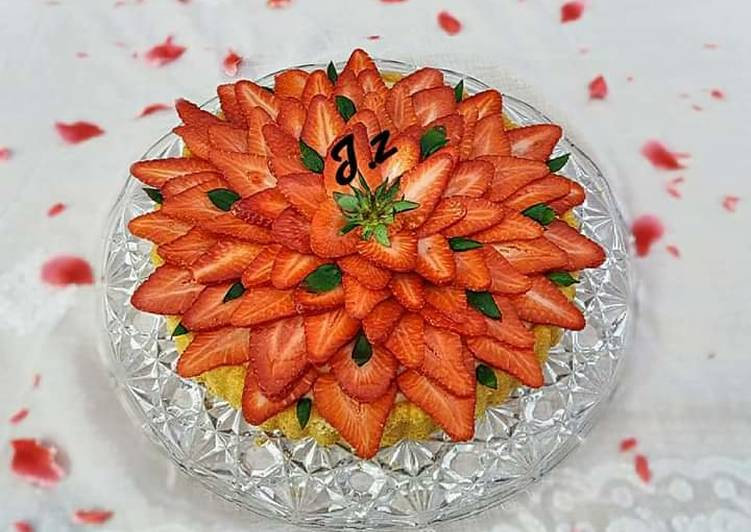 🍓🍇🍍🍌🍊🍒 classic fruit tart 🍒🍊🍌🍍🍇🍓