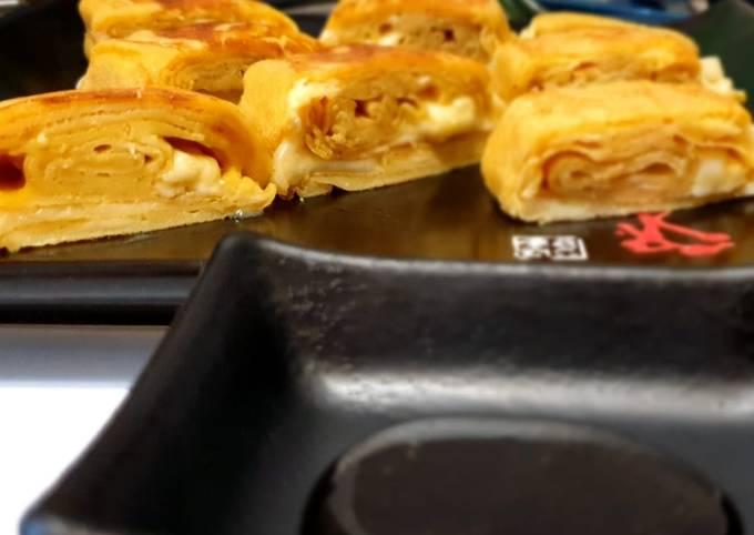 Tamagoyaki (omelette japonaise sucrée)