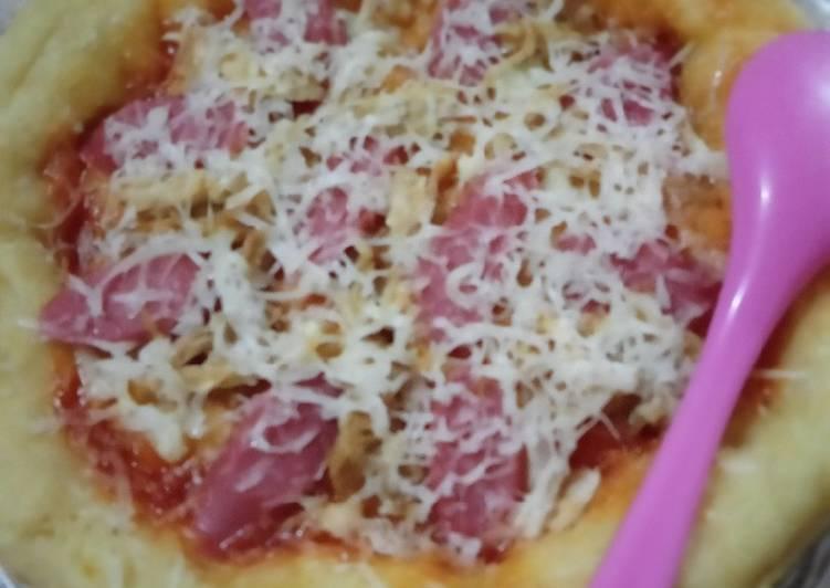 Pizza teflon ala saya