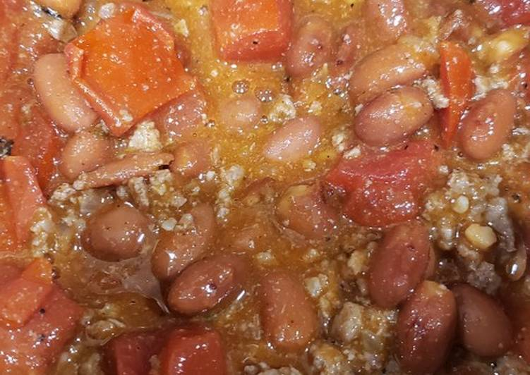 Recipe: Appetizing Taco chili