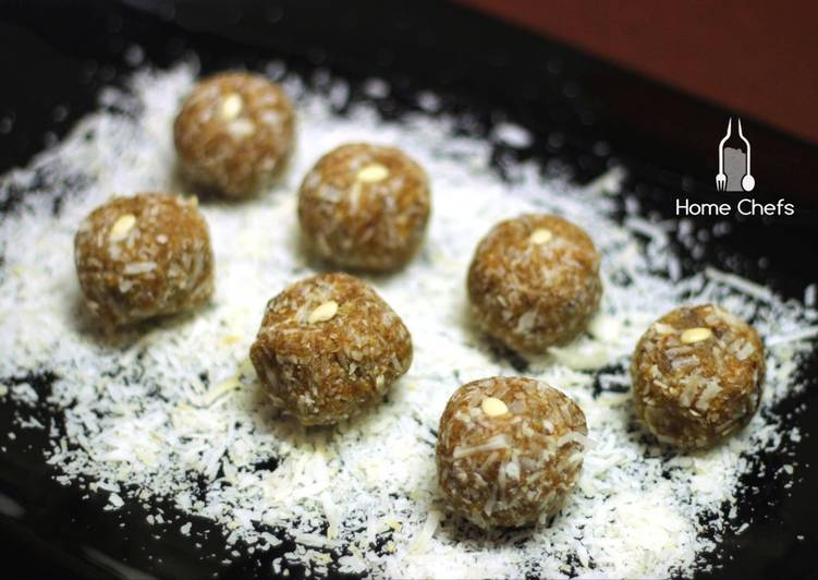 Recipe: Appetizing Muesli and Pumpkin balls