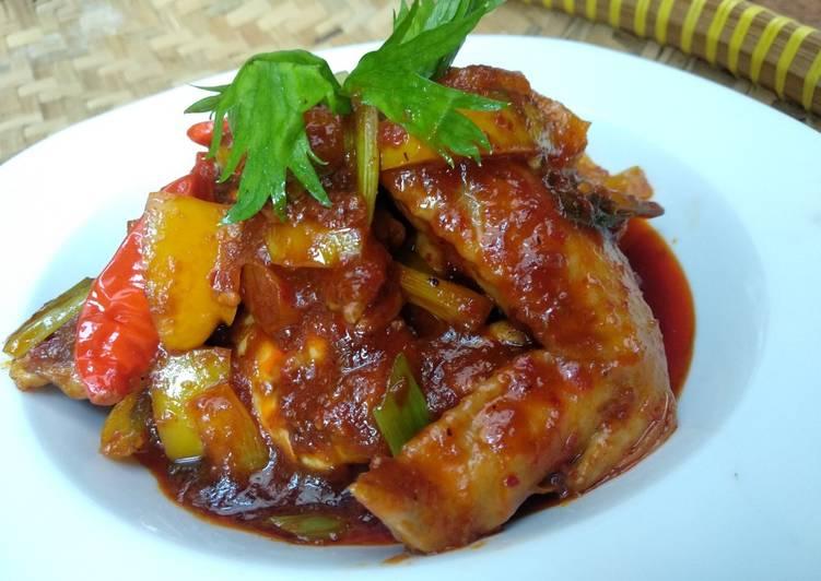 Ayam paprika bumbu bali