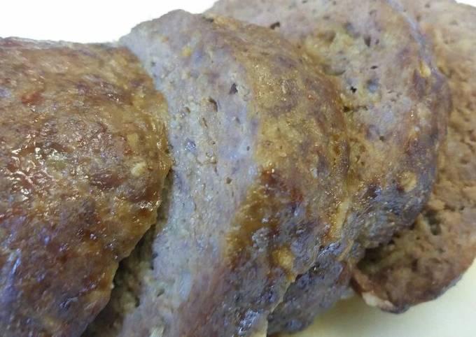 Beef & Cheddar Brat Mini Meatloafs
