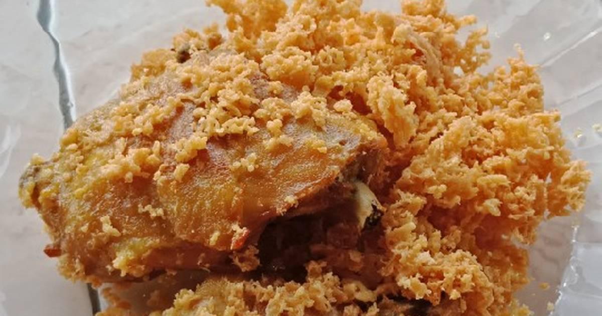 Resep Ayam Goreng Kremes Renyah Bersarang Oleh Riri Sinatrya Cookpad