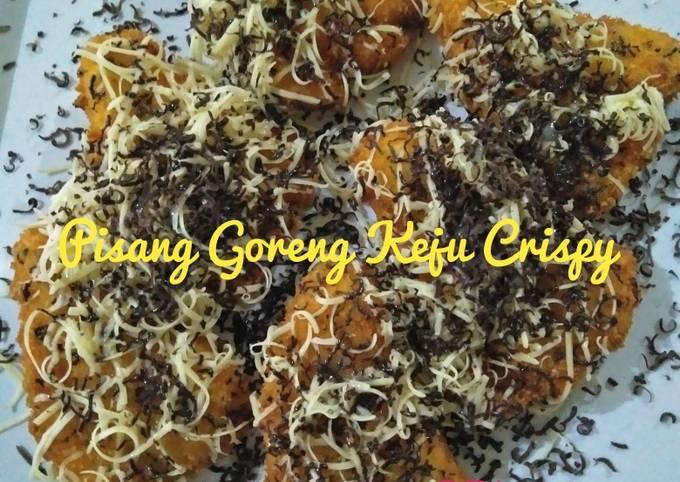 Pisang Goreng Keju Crispy