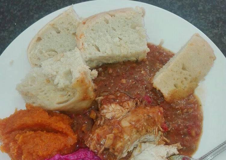 Tasty Sunday meal