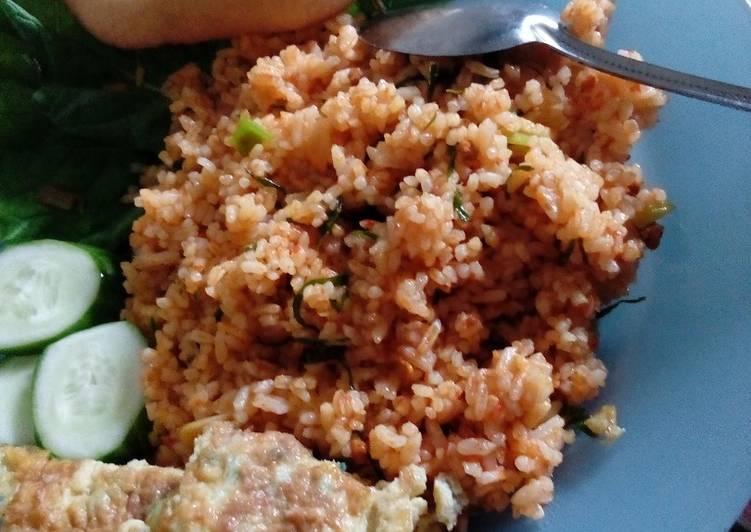 Nasi Goreng Takana Juo (minang)