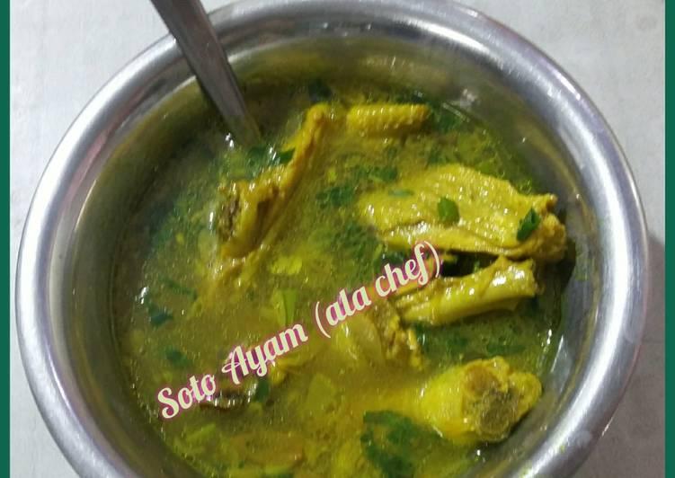 Soto Ayam (ala chef)