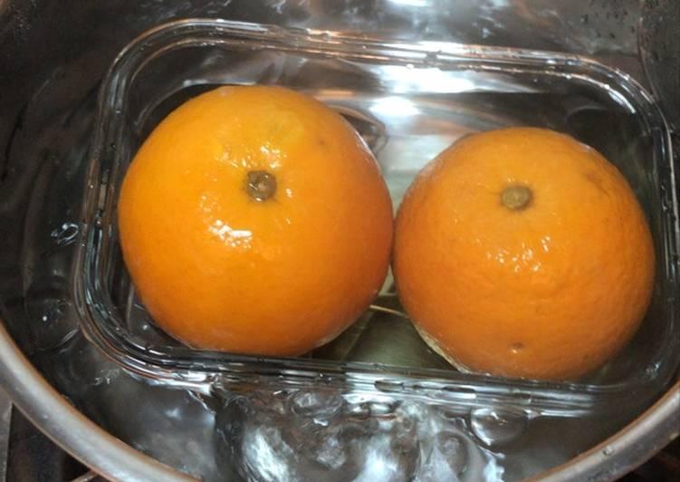 Double-boiled orange