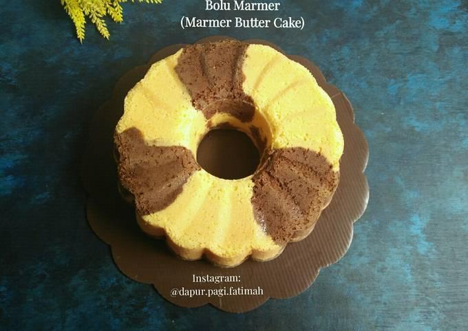 Bolu Marmer (Marmer Butter Cake)