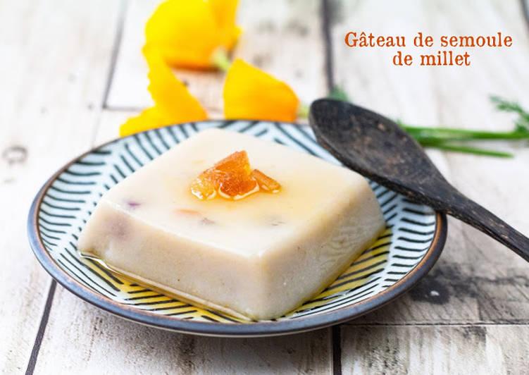 Step-by-Step Guide to Make Speedy Gâteau de semoule de millet