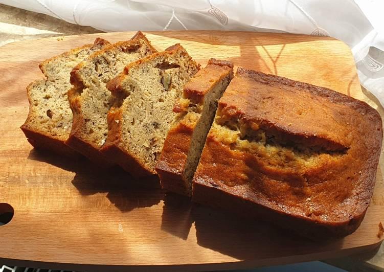 How to Prepare Homemade Banana Bread