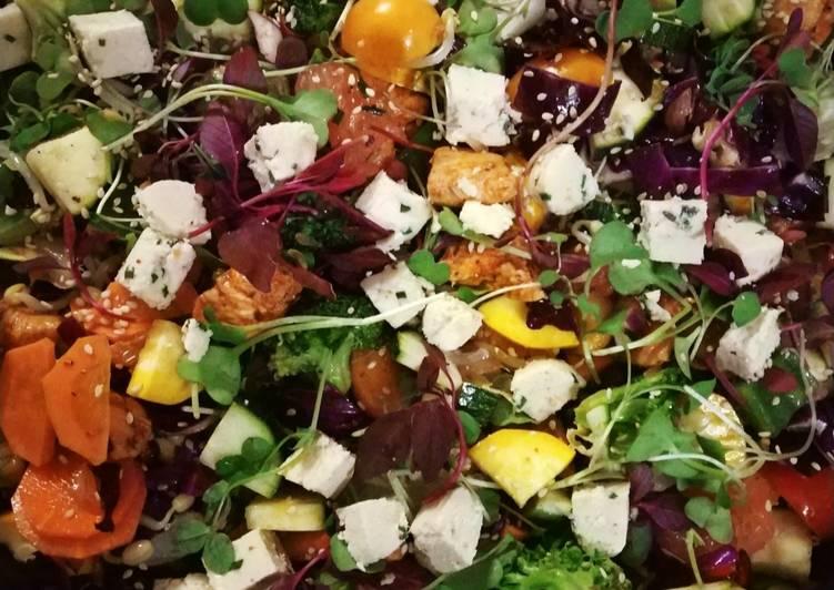 Healthy Jugaad Salad