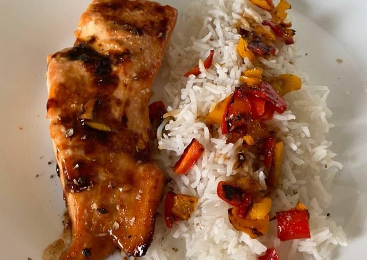 Pavé de saumon à l'asiatique