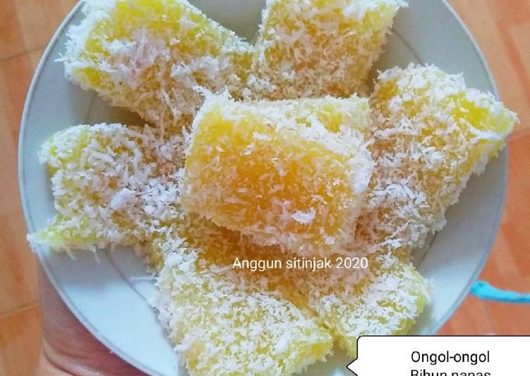 Resep Ongol Ongol Minas A K A Mihun Nenas Oleh Emily Napit Inspiration Cookpad