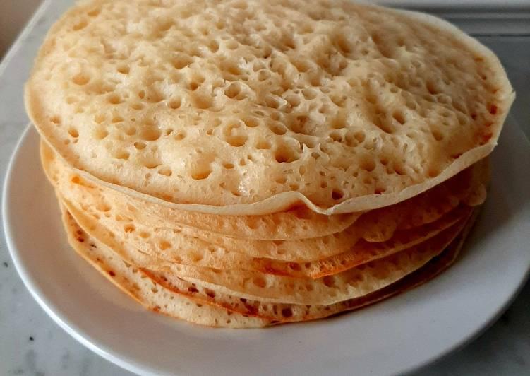Baghrir (pancakes marocchini con mille buchi)