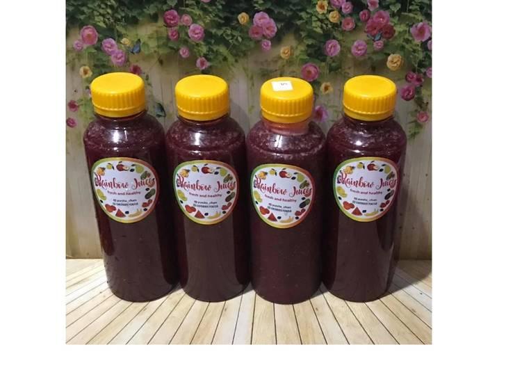 Diet Juice Papaya Blackberry Oranges Beetroot Chiaseed