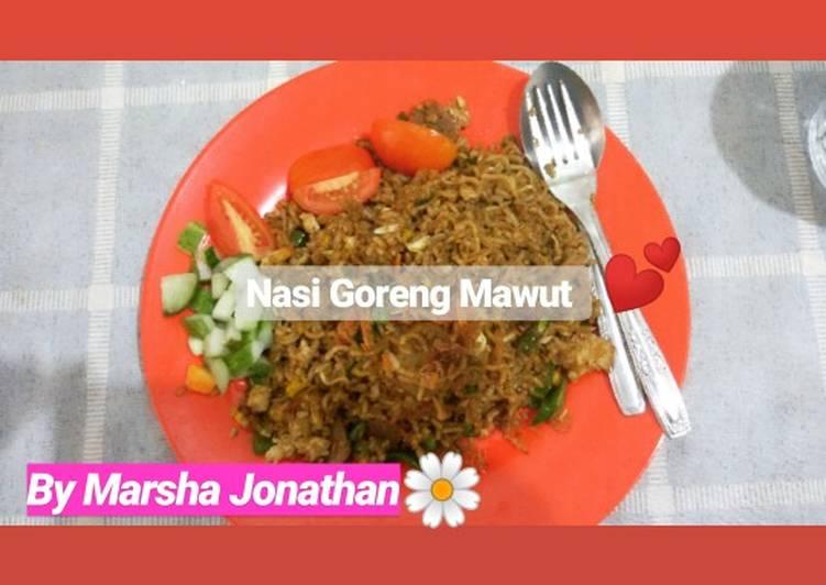Nasi goreng Mawut ala abang-abang#SiapRamadan